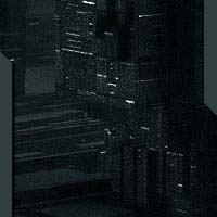 greeble city futuristic night lights