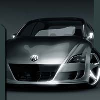 vw volkswagen golf concept car